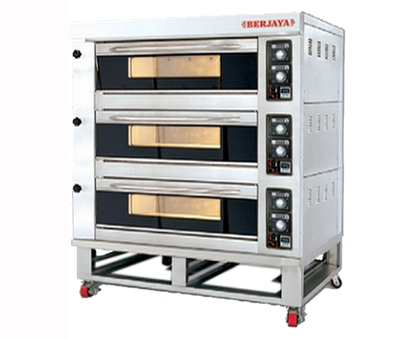 Electrical Baking Oven 3 decks