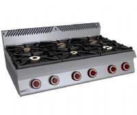 GAS OPEN 6 BURNER  ITALIA