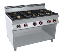 ELECTRIC 6 BURNER  ITALIA (kitchen foot)