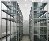 Frozen samples shelves and warehouses 07