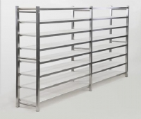 INDUSTRIAL SHELVES 8 TIERS