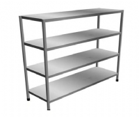 SHELVING 4 TIERS SOLID